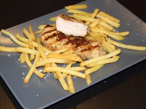 Pork & Chips - only excellent!