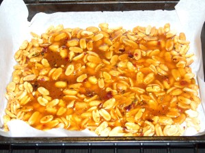 Irie Spicy Peanut Brittle